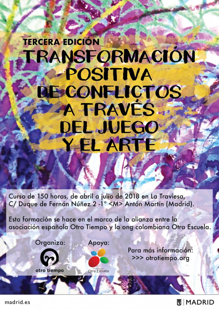 Transformacion Positiva De Conflictosa Traves Del Juego Y El Arte